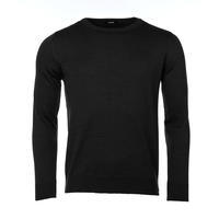 Herrenpullover aus Merinowolle Extra Fine - Black Night