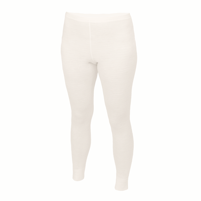 Damen Funktionsleggings aus Merinowolle ­ - Naturfarbe, XL - 1