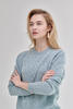 Damen Wollpullover Lambswool - Menthol - 2/6